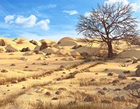 Desert 3d environment