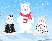 Ілюстрація для polarbearkids.com