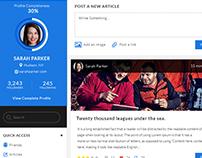 Bloggerini - UX/UI Design