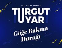 Turgut Uyar - Göğe Bakma Durağı / Book Cover Design