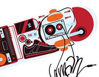 Stiker U-MAN
