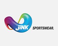 Jink Sportswear branding
