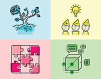 Habi Design Thinking Cards Icons