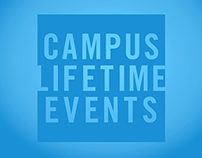 Campus Lifetime Event Posters