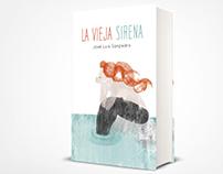 La vieja sirena. Ilustración de portada.