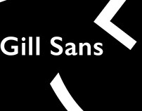 Gill Sans Posters