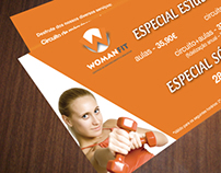 Womanfit flyer - Student promo