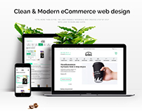 Coffee Shop. eCommerce | UI/UX | Webdesign