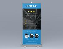 GoFar: banner design