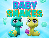 Baby Snakes Illustration