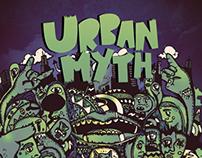Urban Myth EP Cover & Branding