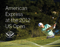 American Express at the 2012 US Open