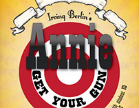 Annie Get Your Gun High School Theater Poster