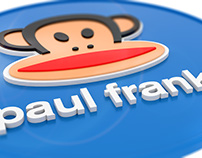Logo Paul Frank, proyection