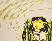 Revista de 50 anos de Lions