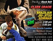Flyer for Brazilian JiuJitsu / Luta Livre / MMA Seminar