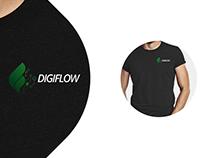 Digiflow branding design