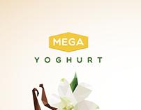 Mega Yoghurt Branding Concept
