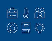 DelAgua - Iconography