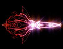Experiência com trapcode form e som