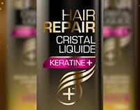 Cristal Liquide//Keratine///Nihel Labs