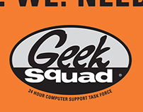 Geek Squad Customer Acquisition Postcards