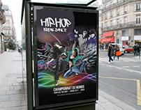 Affiche Championnat du monde hip hop