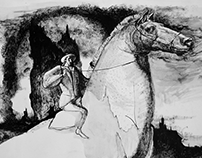 "Illustrations. Aloysius Bertrand "" Gaspar de la nuit """