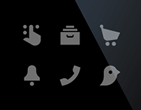 Retina icons