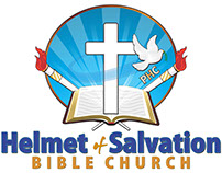 Helmet of Salvation Logo Design