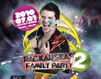 1 side flyer - RACKAUSKAS FAMILY PARTY #2