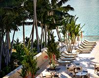 Luxury Hotel Pool Deck