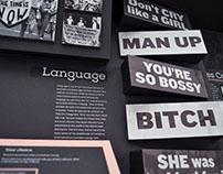 Feminism: Social Impact Museum Wall