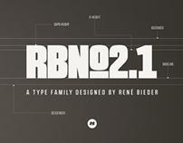 RBNo2.1 Typefamily