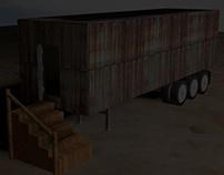 C.I.A. Portable Prison Cell
