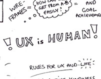UX is everywhere sketch note