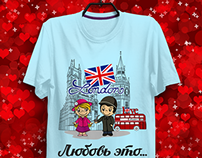 """Author's series """"Love is..."""". Russian look."""
