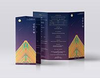 Leaflet design - Moonlight Tour