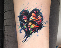 Butterfly-Heart Tattoo