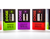 Dose Oils - Cannabis Branding, Packaging, Logo Design