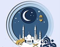 Ramadan canvas design