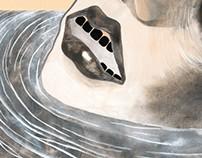 Album cover illustration for Bomber Gap, 2015