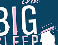 Book Cover design - The Big Sleep