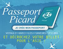 Passeport Picard, partez à l'autre goût du monde !