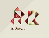 Geometric Font - Tritalics