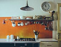R13 apartment for Trendi magazine