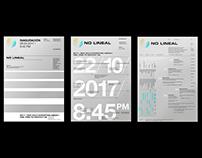 No Lineal / Poster Set / 6c, 8c, 10c.