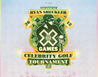 Ryan Sheckler X Games Golf Tournament