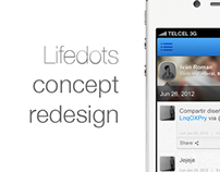 Lifedots concept redesign