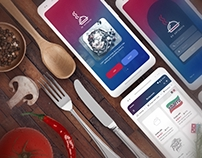 Go Catering Restaurant app UI/UX Mobile app